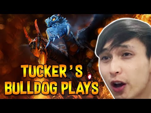 BULLDOG PLAYS BY TUCKER ◄ SingSing Moments Dota 2 Stream