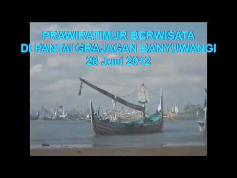 Prawiratimur Berwisata Di Pantai Grajagan Banyuwangi video