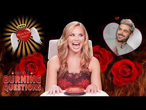 Bachelorette Hannah Brown Answers Ellen's 'Burning Questions'