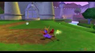 Spyro: Enter the Dragonfly - Gameplay PS2 (PS2 Games on PS3)