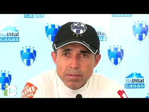 Carlos Barra, obligado a dar resultados con Monterrey