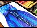 Purple & Blue Realistic Hair Speed Art