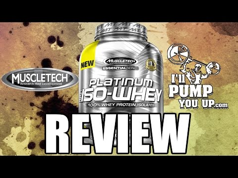 MuscleTech Platinum 100% Whey Supplement Review with Taste Test