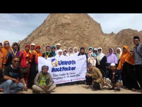 Foto umroh backpacker