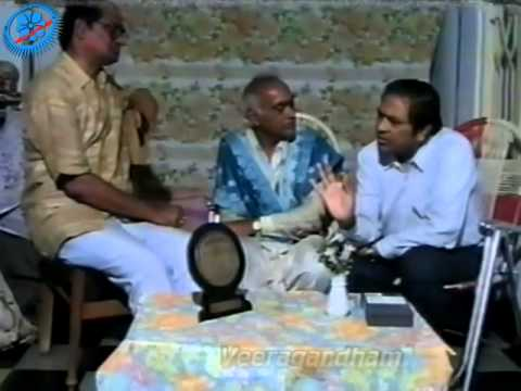018 – Interview of Sri Veeragandham Venkata Subbarao by Sri A B Anand, Hyderabad – Part 6 of 6 Photo Image Pic