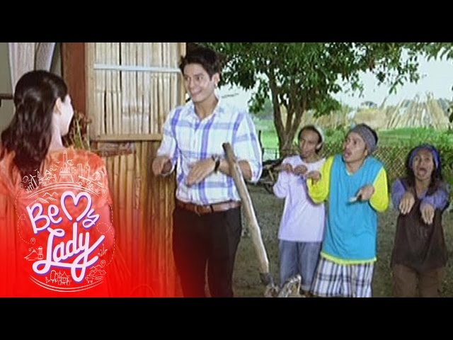 """Be My Lady: Phil sings and dances to """"Tatlong Bibe"""""""