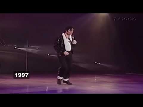 Michael Jackson Moonwalk Evolution 1983 2009