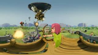 Clash of Clans Movie 2016 All Animated Funny Film Trailer CoC in Real Life