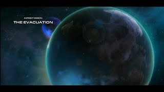 Starcraft 2: Wings of Liberty: The Evacuation (Walkthrough on Brutal Difficulty)