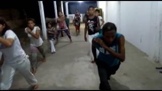 Educador DJ Capoeira Jogo Brasileiro .