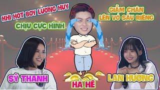 Lương Huy tái mặt khi đụng độ bạn gái Lan Hương
