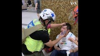 Những đội cứu thương tình nguyện ở Hong Kong, họ là ai? (VOA)