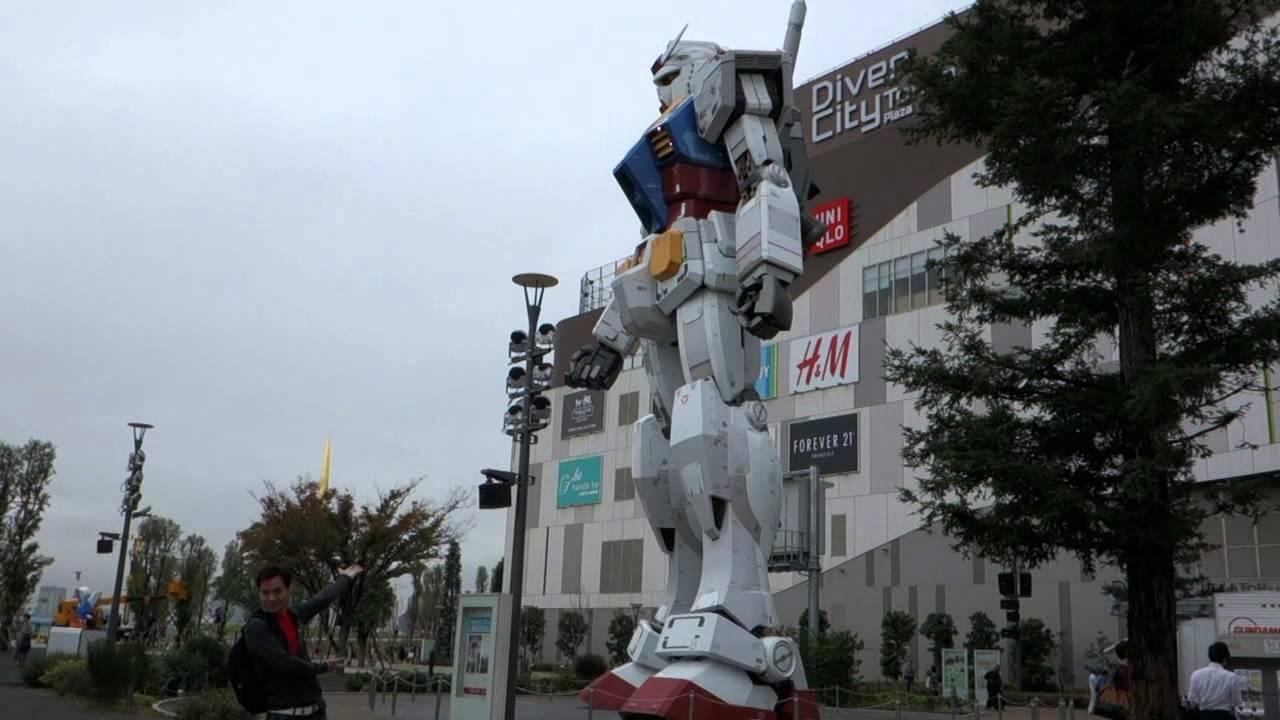 Diver City Tokyo Gundam Diver City Tokyo Plaza