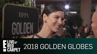 "Caitriona Balfe Skips ""Outlander"" for 2018 Golden Globes | E! Red Carpet & Live Events"