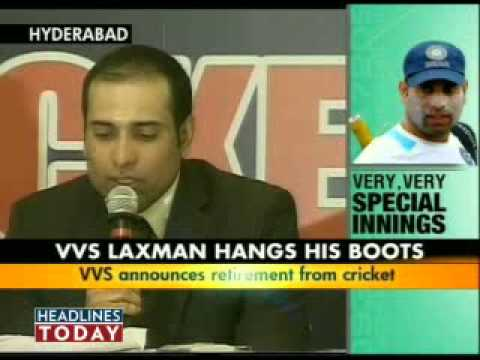 Sourav Ganguly Slams Selectors For Vvs Laxman's Retirement - Part 1 Of 6 video