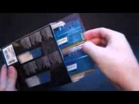 Best PC Gaming Ram 2013   Best PC Gaming Ram 2013- Corsair Vengeance DDR3 RAM Unboxing