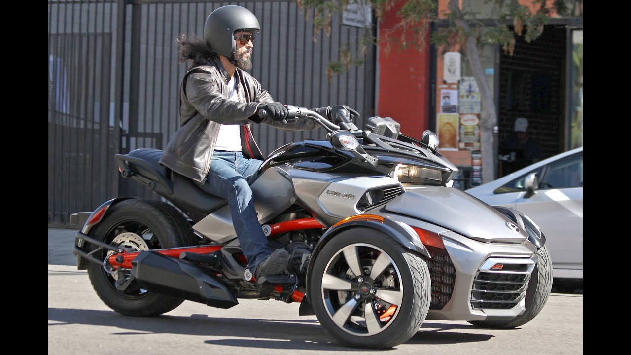 All-New Can-Am Spyder F3 EFI, spotted without camouflage and they look