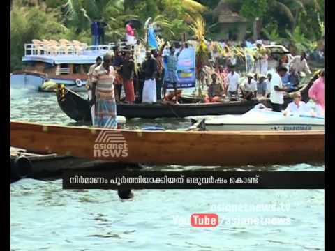 'Palliyodam' in Kuttanad : നടുഭാഗത്തിന് പുതിയ ചുണ്ടന് | Boat Race