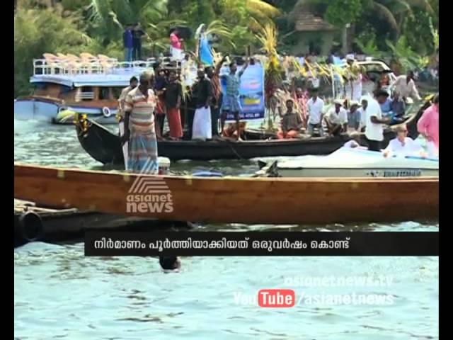 'Palliyodam' in Kuttanad : നടുഭാഗത്തിന് പുതിയ ചുണ്ടന്   Boat Race