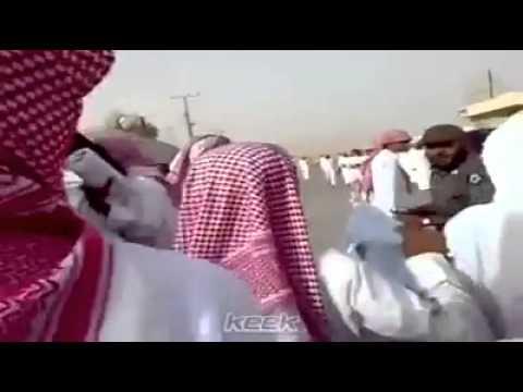 Fight between Saudi Police and School boys