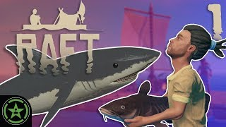 No Bite, No Shark Plz - Raft   Let's Play