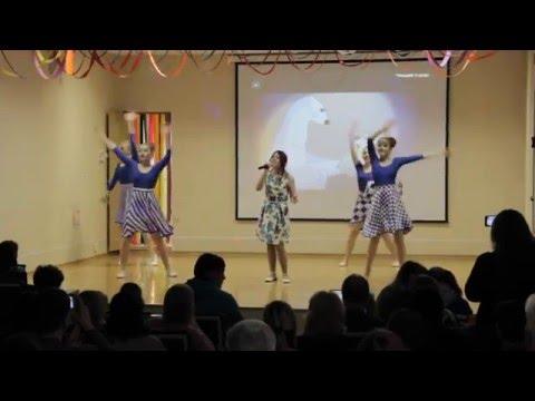 видео танец где-то на белом свете для детей