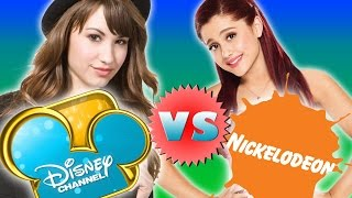 Nickelodeon Girls and Boys VS Disney Girls and Boys