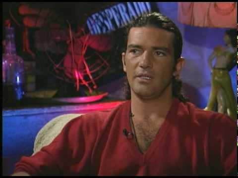 Antonio Banderas talks with Joe Leydon about