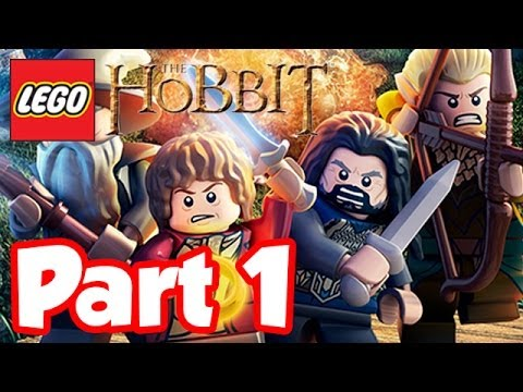 LEGO Hobbit - Part 1 - DRAGONS ARE AWESOME!! Lego Hobbit The...