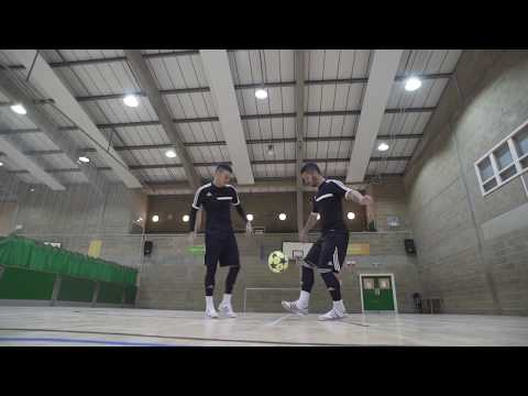 F2freestylers Practice Session! Crazy Football Skills | Football Freestyle Double Act   Duo video