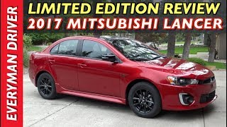 Here's the 2017 Mitsubishi Lancer Limited Edition on Everyman Driver