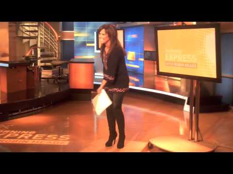 Robin Meade Behind the Scenes