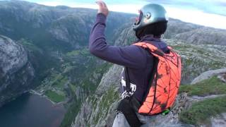 Norway, Lysebotn, B.A.S.E. jumping, Smallvegan