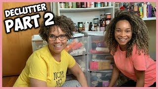 DECLUTTER NATURAL HAIR PRODUCT STASH | PART 2