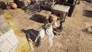 Assassin's Creed Odyssey Use Flying Horse Deliver the Bag Artistic Ambiguity