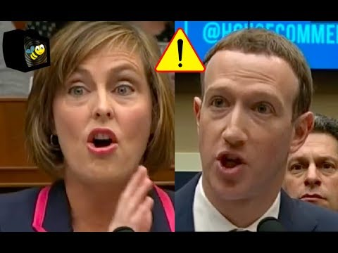 Congresswoman Won't Let Mark Zuckerberg WEASAL His Way Out Of Her Question About Tracking People!