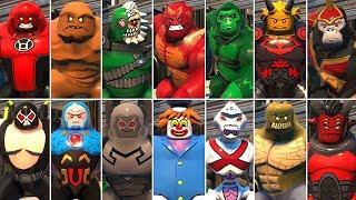 All Big-Fig Characters in LEGO DC Super-Villains (DLC Included)