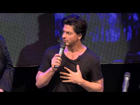 Shahrukh Khan @ YouTube FanFest with HP Mumbai 2014
