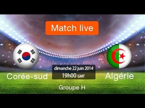 Regarder en direct alg rie et la cor e du sud match la - Match en direct gratuit coupe d afrique ...