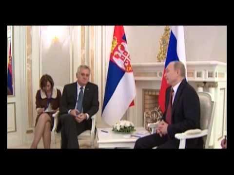 Predsednik Srbije Tomislav Nikolić o dolasku pred. Rusije Vladimira Putina