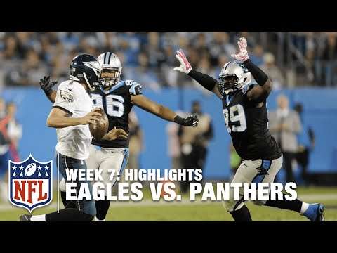 Eagles Vs Panthers Week 7 Highlights Nfl