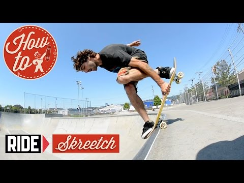 How-To Skateboarding: Blunt Mute Grab 180 with Josh