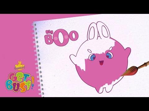 BRAND NEW - SUNNY BUNNIES | Drawing Big Boo | Arts & Crafts | Cartoons for Kids