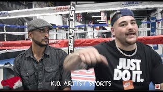 """I KNOW I CAN BEAT HIS A$S (TYSON FURY) TOO!"" ANDY RUIZ ON ANTHONY JOSHUA/DEONTAY WILDER KO!"