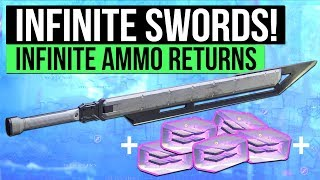 Destiny 2 | INFINITE AMMO SWORDS! - The Best Swords With Free Ammo Returns & High Damage!