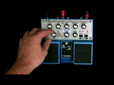 Guitar Pedal Review: Boss CE-20 Chorus Ensemble Stomp Box