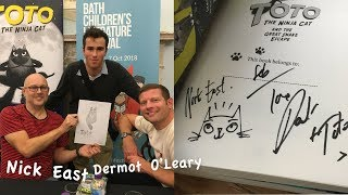 About meeting Dermot O'Leary & Nick East...