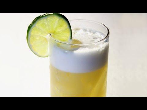 Receta. Coctel Whisky Sour
