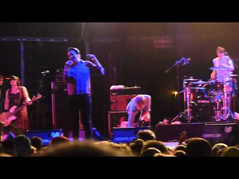Art Brut, My Little Brother, live, Benicassim 15.7.11