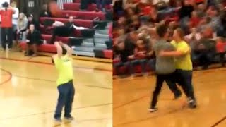 18-Year-Old With Down Syndrome Makes Half-Court Shot